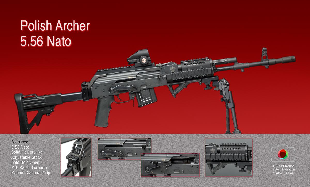 Cusom Polish Archer / AK 5.56